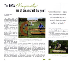 ohta championships at dreamcrest